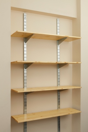 Shelf in Buckhead GA installed by Universal Services LLC