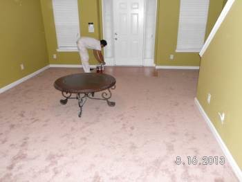 After Drywall Repairs, Painting, and Flooring in Norcross, GA